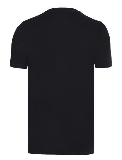 T-shirt Armani Homem Preto - Vermelho-Branco