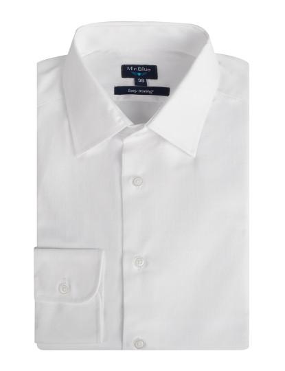 Camisa Clássica Mr Blue Branco
