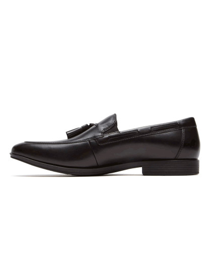 Loafers Style Connected Tassel Pretos