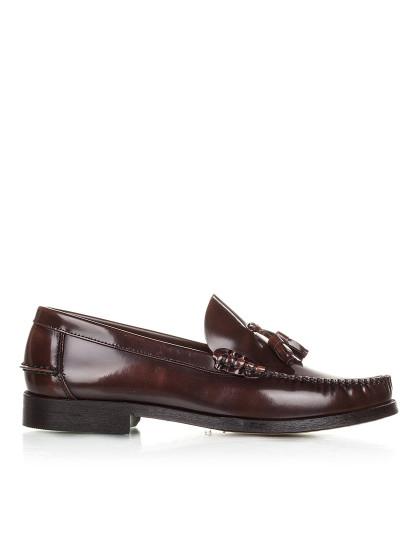 Sapatos com pendulo Castellanisimos Castanho
