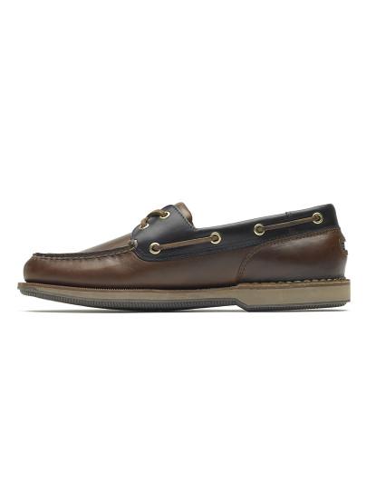 Sapato de vela Rockport Castanho escuro