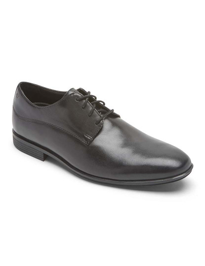 Sapatos Rockport Style Connected Waterproof Plain Toe Preto