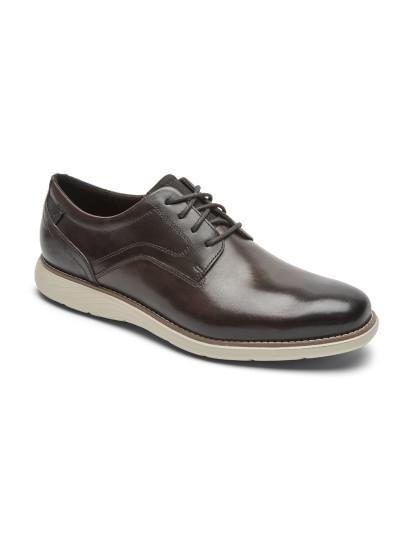 Sapatos Rockport Garett Plain Toe Java Gradien