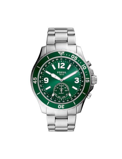 Relógio Fossil Prateado e Verde