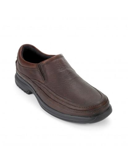 Sapatos Rockport Bl Moc Slip On Castanho de Homem