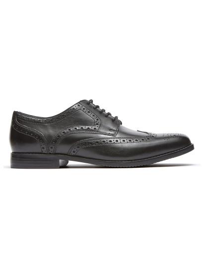 Sapatos Rockport Sp Wing Tip Pretos