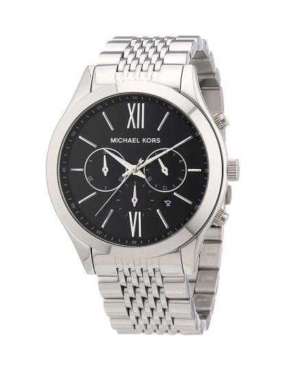 Relógio Michael Kors de Homem Prateado e Preto