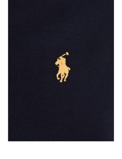 Pólo M. Curta Ralph Lauren Homem Preto/Amarelo