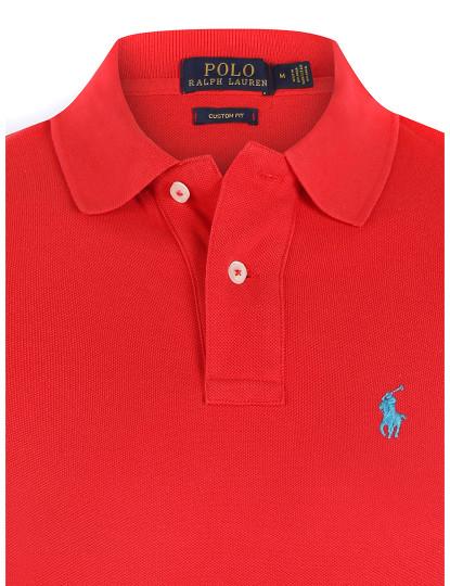 Pólo M. Curta Ralph Lauren Homem Vermelho/Azul Navy