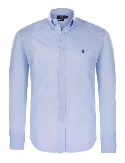 Camisa Ralph Lauren Homem Azul