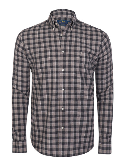 Camisa Ralph Lauren Homem Cinza