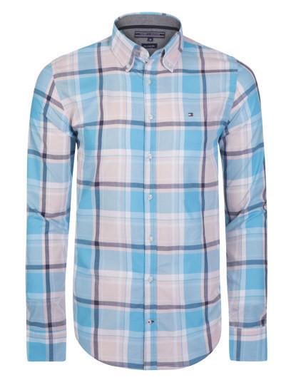 Camisa Tommy Hilfiger Homem Azul