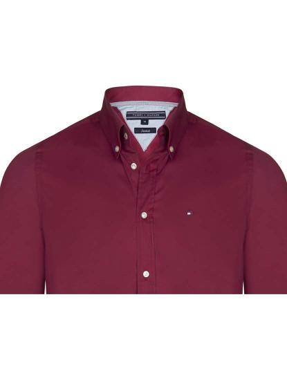Camisa Tommy Hilfiger Homem Bordeaux