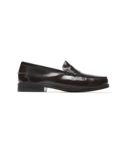 Sapatos Rockport Everyday Business Penny Burgundy Box