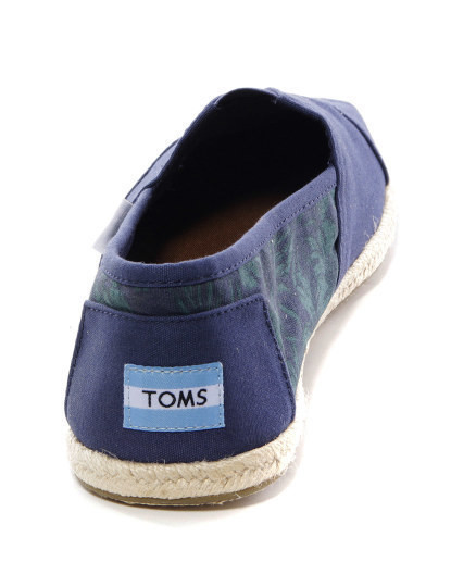 Alpercata Toms Azul Marinho