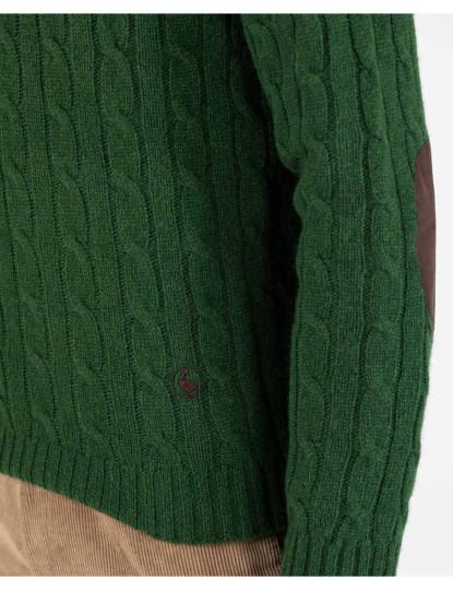 Camisola Jersey gola redonda  El Ganso Verde
