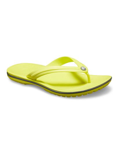Chinelo Crocs Crocband Verde Limão e Cinza