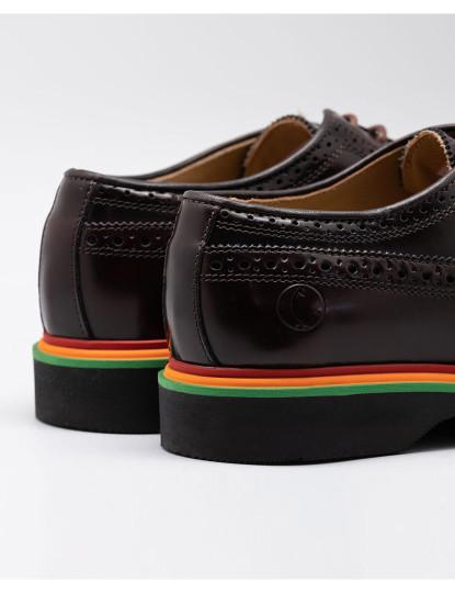 Sapatos Derby El Ganso Castanho