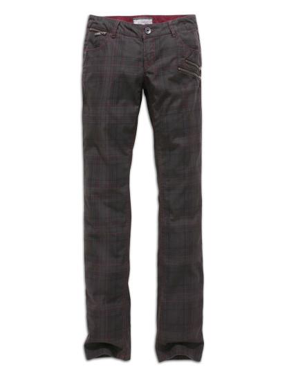 Jeans Time Out Xadrez Cinza