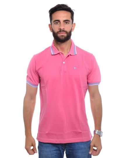 Pólo Koati Homem Rosa