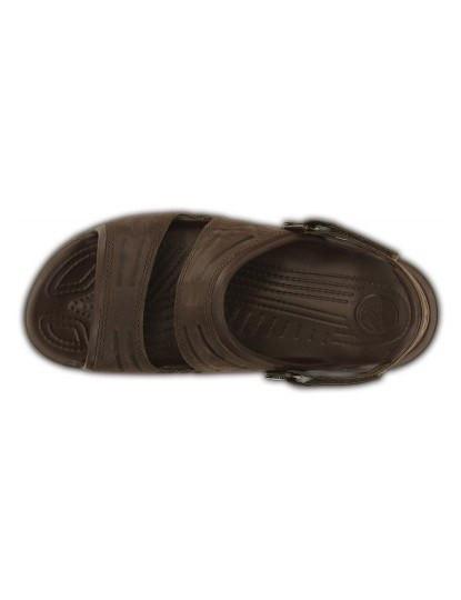 Sandália Crocs Yukon Two-strap Castanho