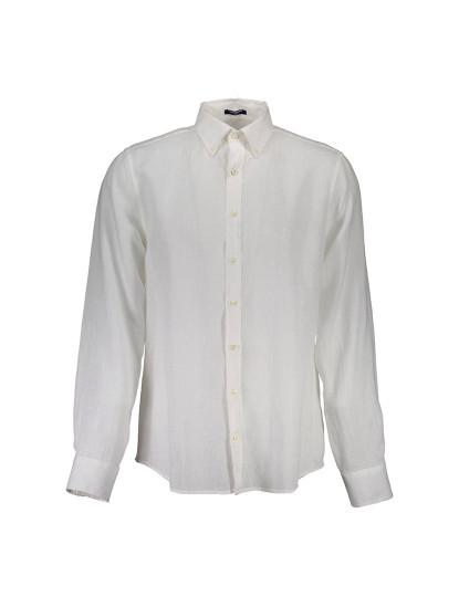 Camisa Manga Comprida Gant Homem Branco