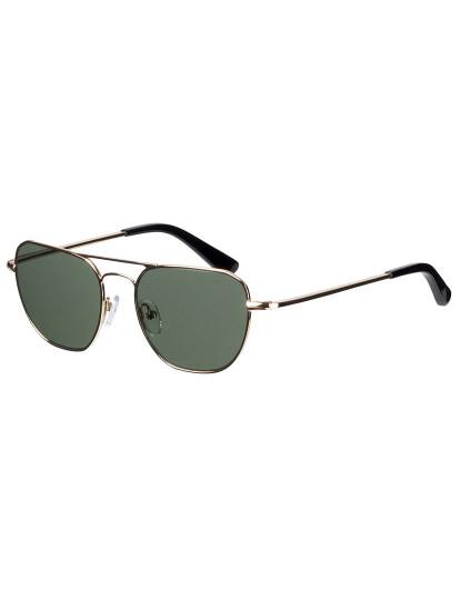 Óculos de Sol Johnny Loco Unisexo Dourado