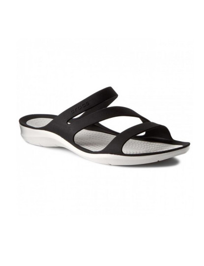 Crocs Swiftwater Sandal W Preto e Branco