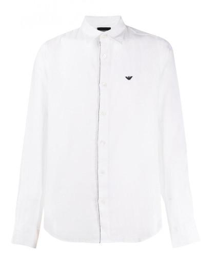 Camisa Emporio Armani Homem Branco
