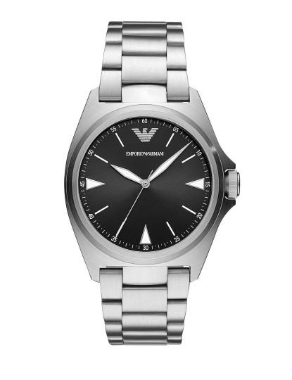 Relógio Armani Preto e Prata