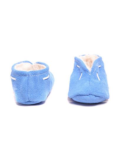 Babuchas Adulto Azul Celeste