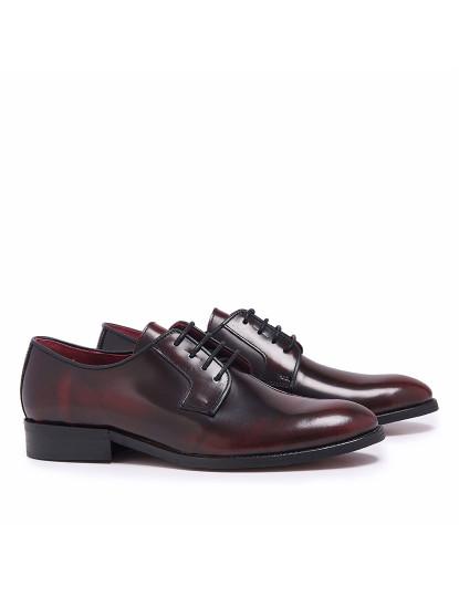Sapatos Blucher Classic Florentic Homem Bordeaux