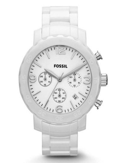 Relógio Fossil Analógico Branco