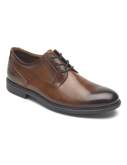 Sapatos Rockport Madson Plain Toe Conhaque