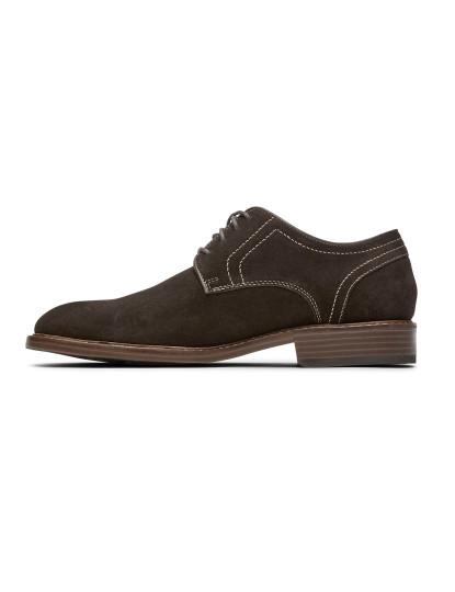 Sapatos Rockport Kenton Plain Toe Castanho Chocolate