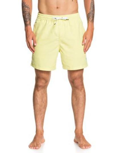 Calções de Banho Quiksilver Homem Vert Volley Amarelos