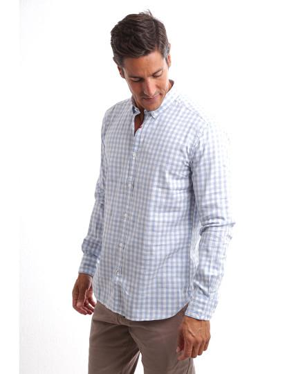 Camisa Sacoor One Azul claro