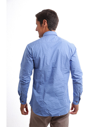 Camisa Sacoor One Azul