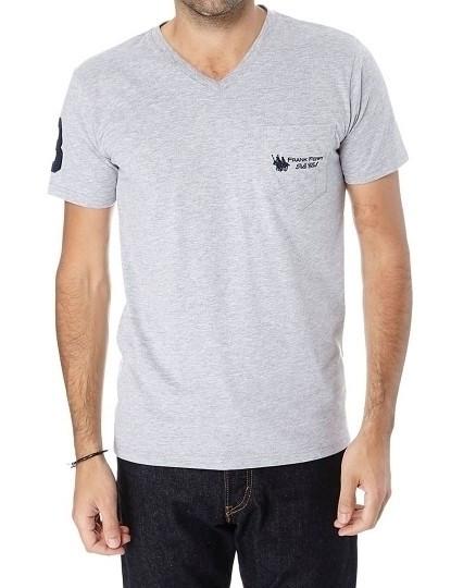 T-shirt Homem Frank Ferry Cinza