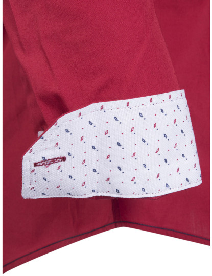 Camisa Giorgio di Mare Homem Vermelho