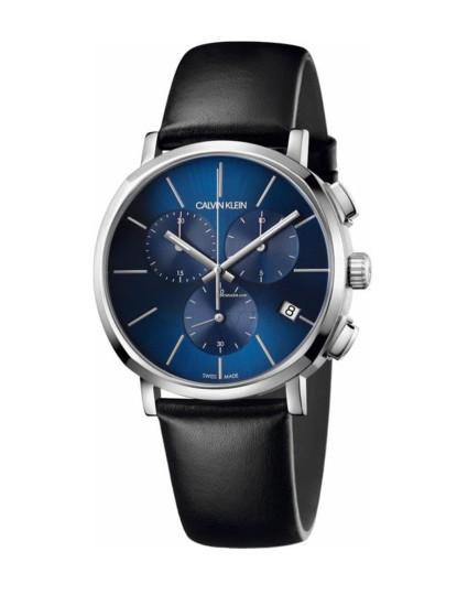 Relógio Calvin Klein Homem Azul e Preto