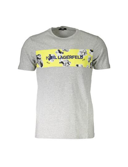 T-Shirt Karl Lagerfeld Homem GRIGIO