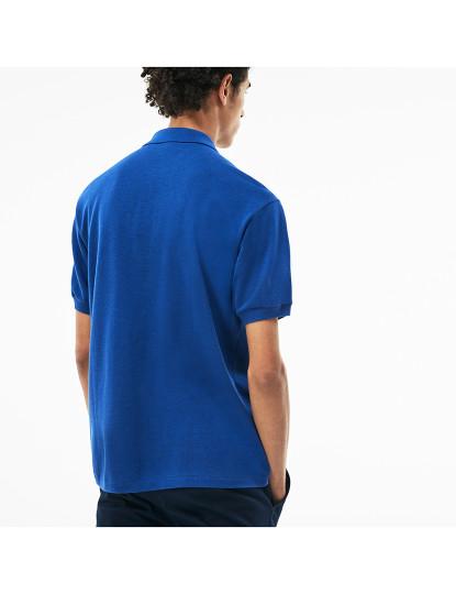 Polo Lacoste de Homem Azul
