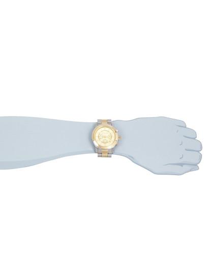 Relógio Michael Kors Oversize Prateado&Dourado