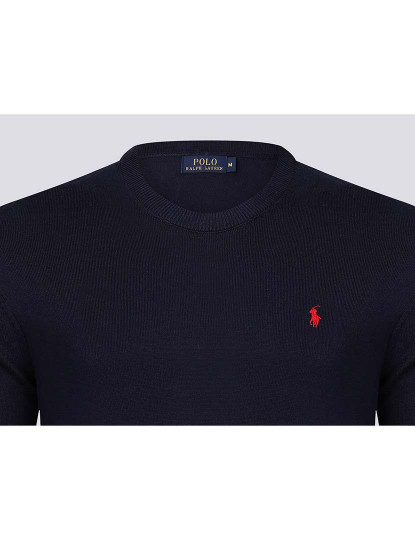 Camisola Ralph Lauren Homem Azul Navy/Vermelho