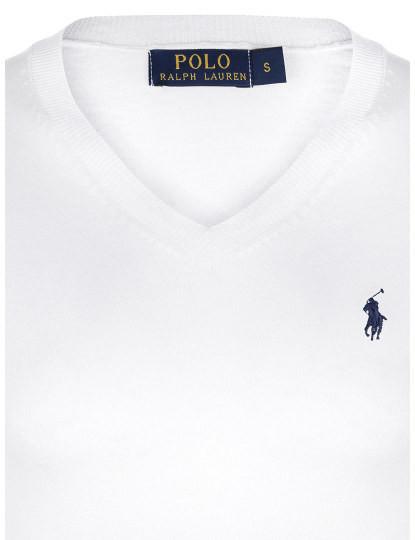 Camisola Ralph Lauren Homem Branco/Azul Navy