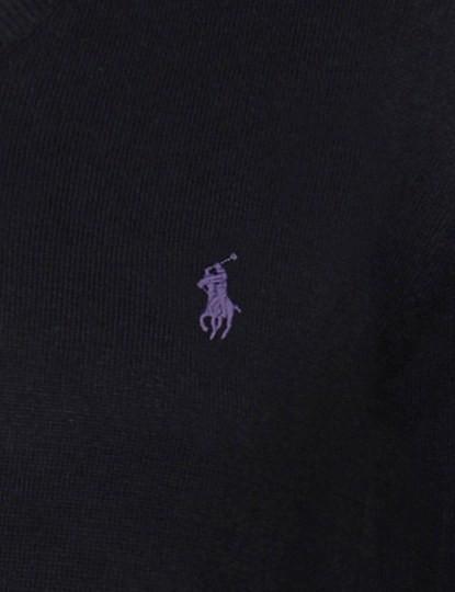 Camisola Ralph Lauren Homem Preto/Violeta