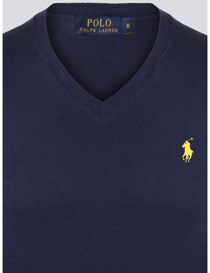 Camisola Ralph Lauren Homem Azul Navy/Amarelo