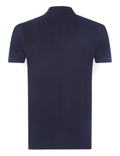 Pólo M. Curta Ralph Lauren Homem Azul Navy/Vermelho