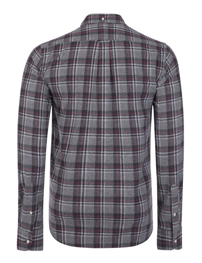 Camisa Ralph Lauren Manga comprida Cinza Escuro Homem